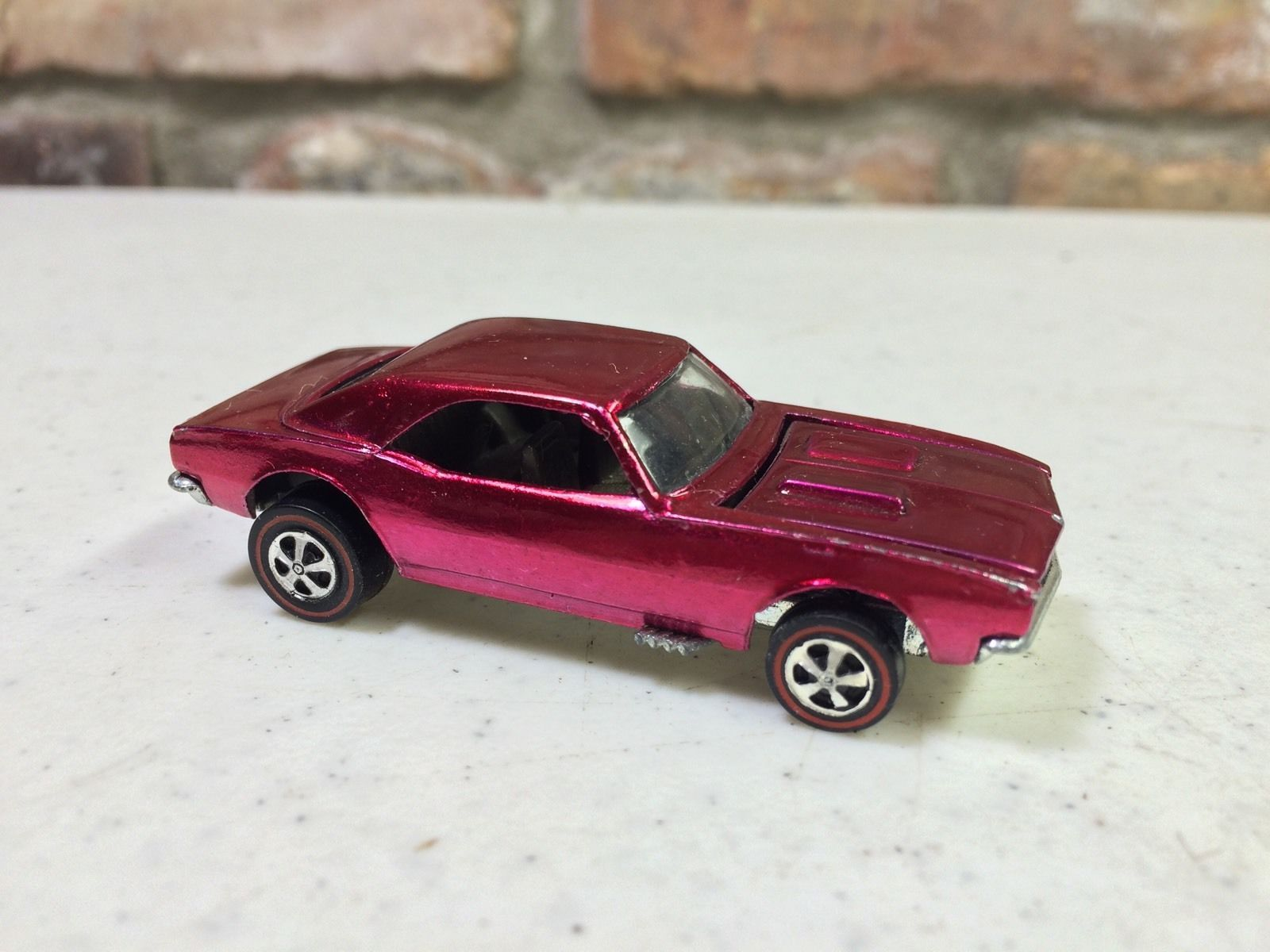 Near Mint 1968 Hot Wheels Redline Custom Camaro Creamy Pink Ebay