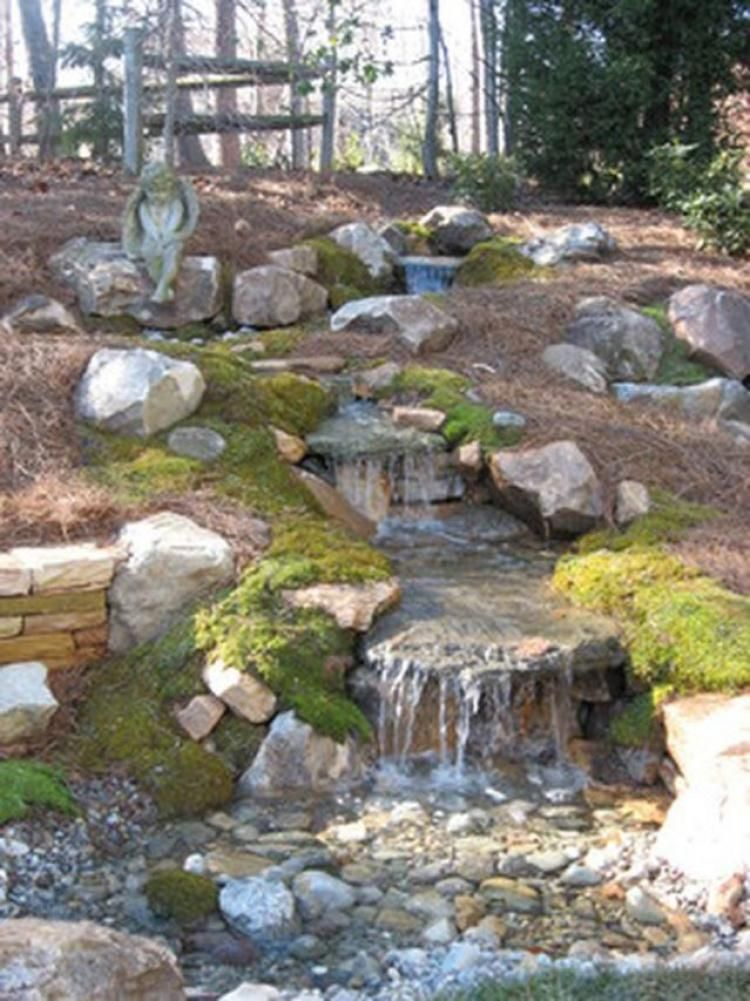That S How To Make Waterfall For Your Home Garden Garden Waterfall Pondless Water Features Backyard Water Feature
