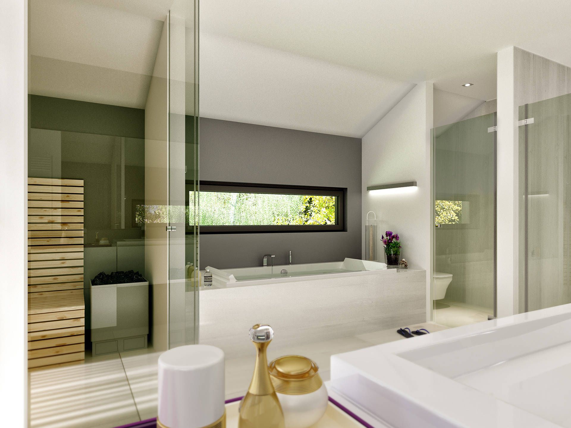 top 25+ best badezimmer mit sauna ideas on pinterest, Badezimmer dekoo
