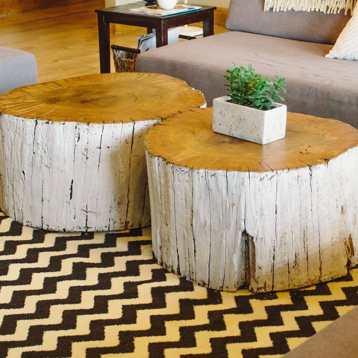 log coffee table | home sweet home someday ;-) | pinterest