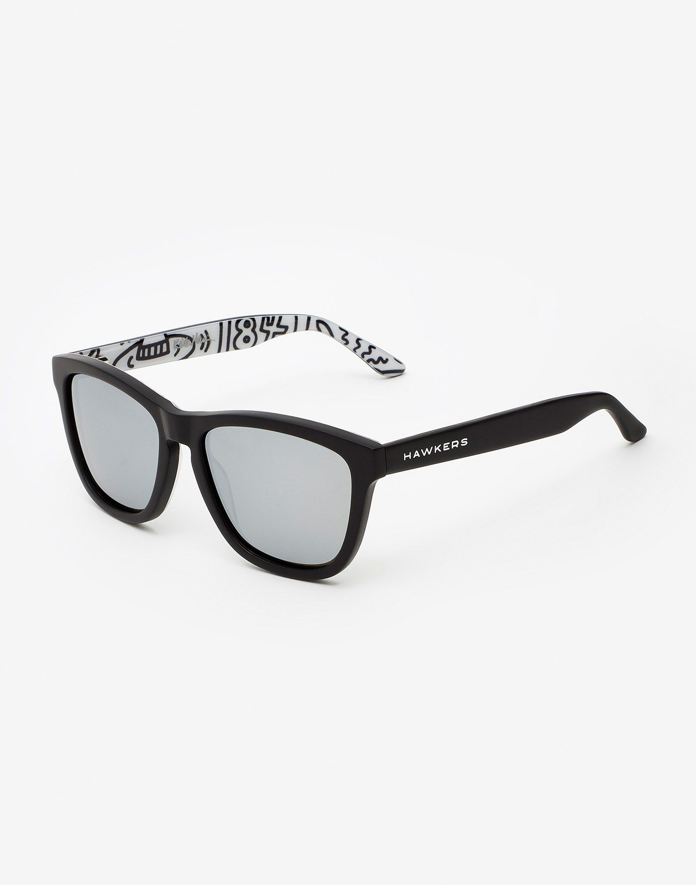 e4f32b851a ALL BLACK Edición especial de gafas de sol inspiradas en la obra del  artista pop Keith