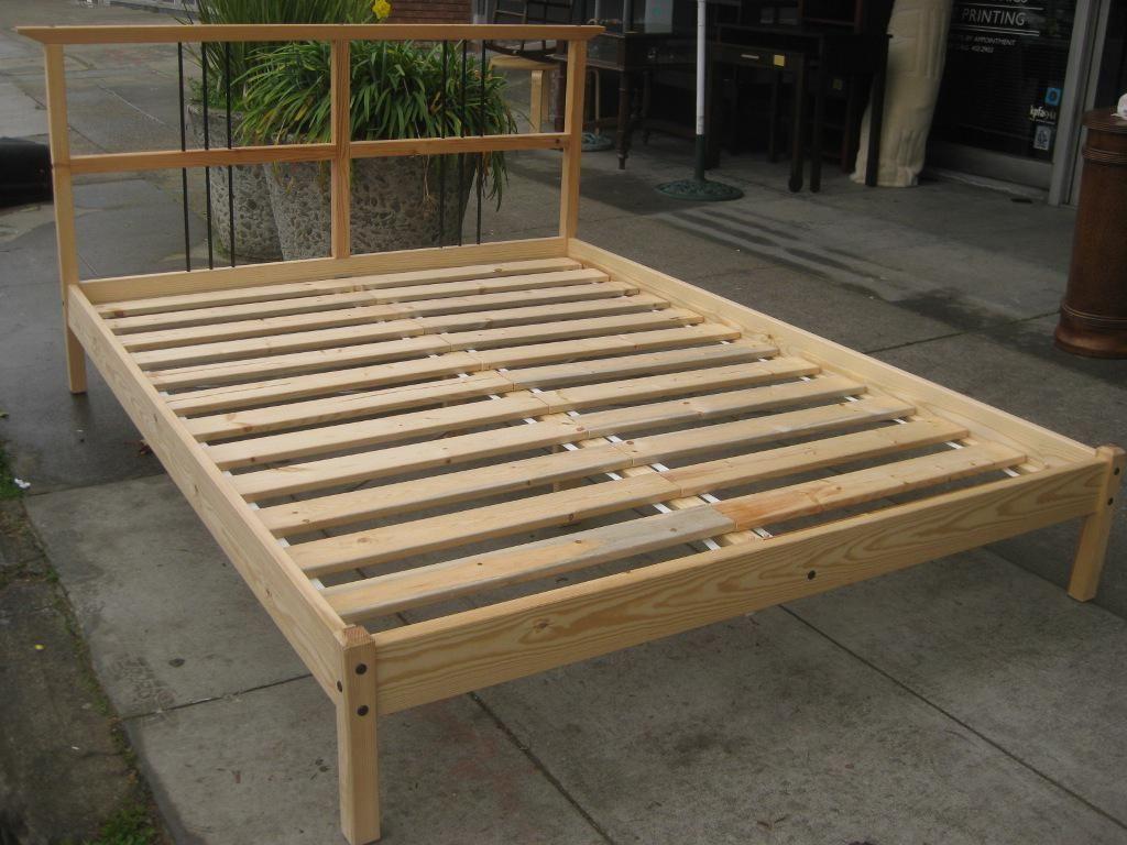 Bed Bath Diy Queen Bed Frame With Platform Bed Plans For