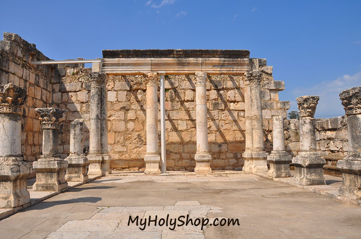 In Capernaum, Jesus set the center of his activity for a long time. When visiting the area you can find the Catholic Church of CefarNaum, and many historical, archaeological ruins. Capernaum, located in the Sea of Galilee, Israel
