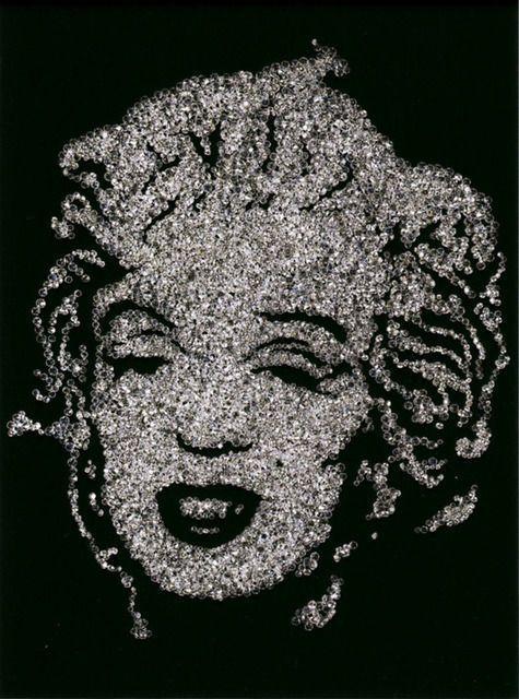 Vik Muniz, Marilyn Monroe (2004)