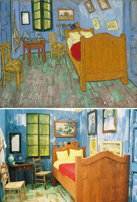 "bedroom in arles"", van gogh - remakejoshua louis simon"