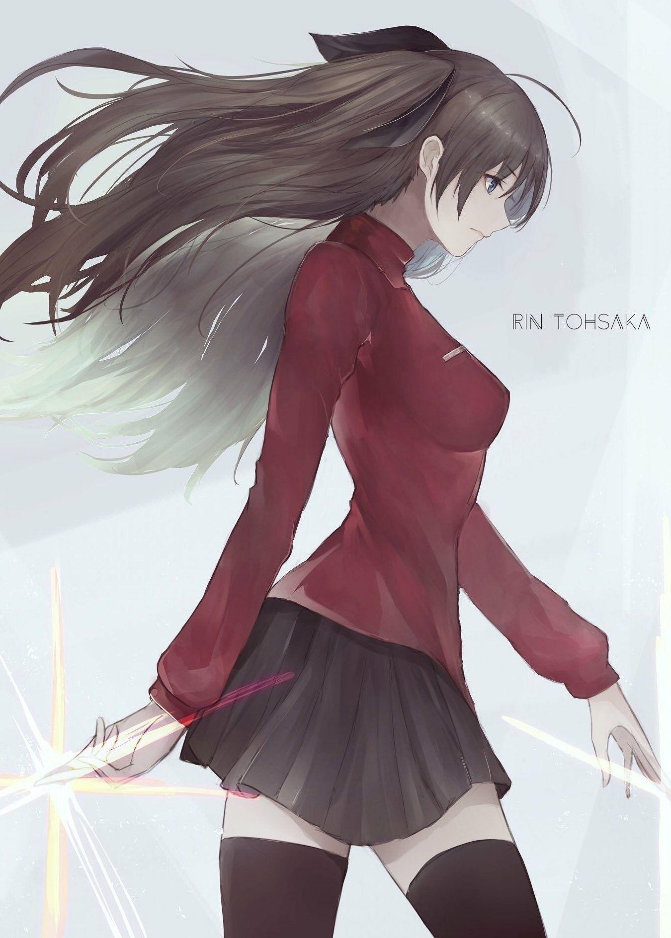 Rin Tohsaka Fate Stay Night Rin Tohsaka Rin Fate Stay Night Anime