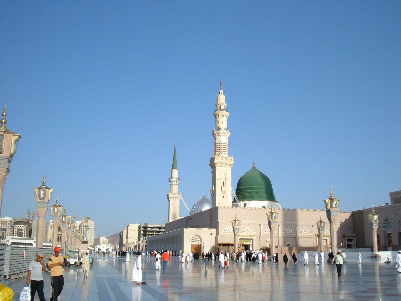 The Prophet S Mosque Mesjid Perjalanan Wallpaper Ponsel
