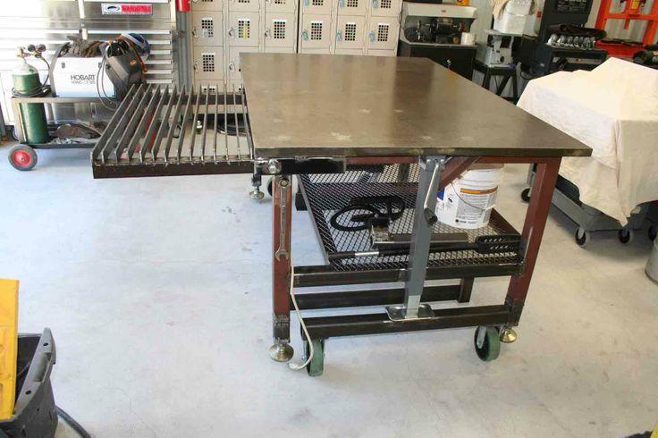 Diy Welding Table And Cart Ideas Welding Table