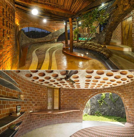 India Art N Design Features Brick House By IStudio