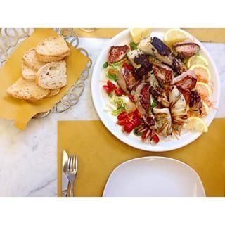LUNCH #lunch #food #foodie #happy #holiday #love #sardegna #livorno #anticavenezia #sardinia #fish