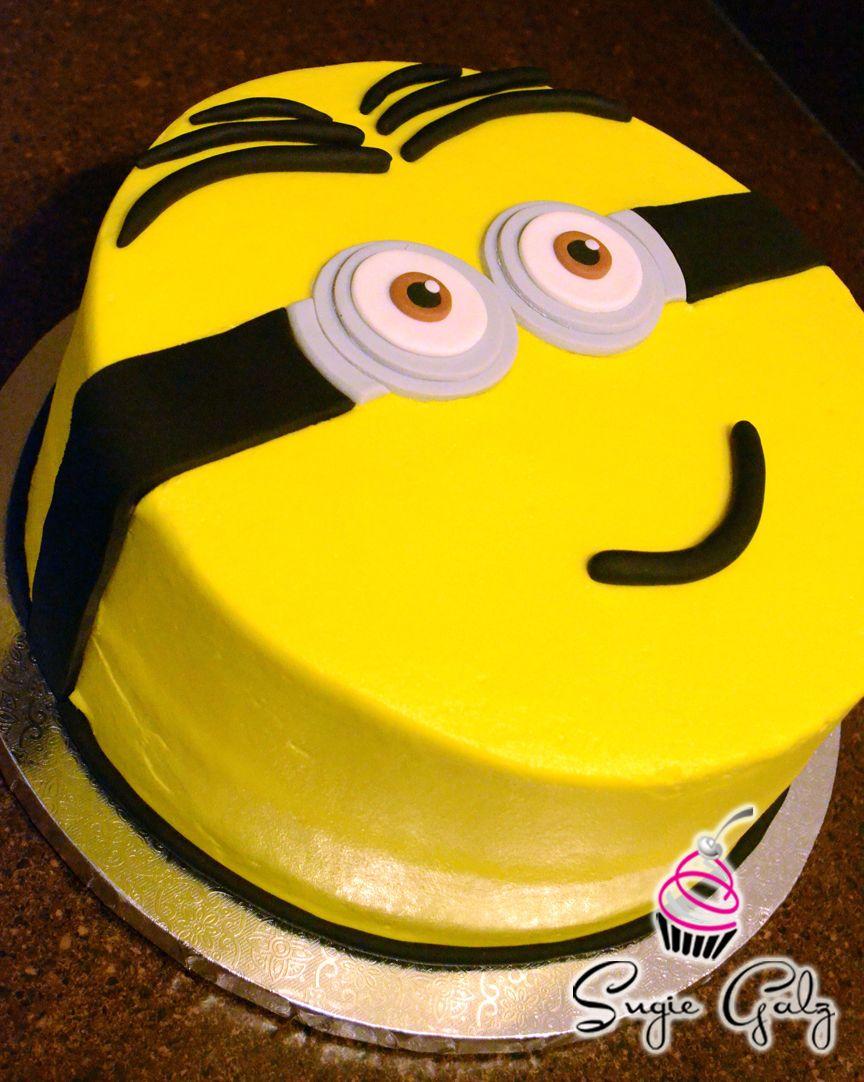 Good Minion Birthday Cake in Austin Texas By Sugie Galz Birthday