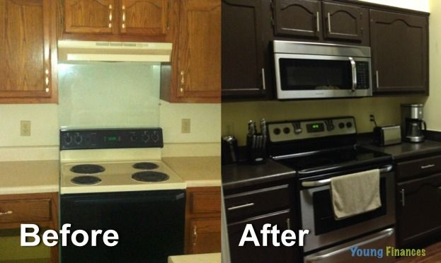 How To Remodel A Kitchen Red Rugs And Mats 20 Year Old For Less Than 3 000 On Budget Young Finances