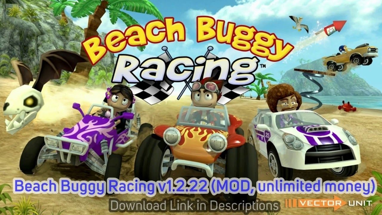 Beach Buggy Racing v1.2.22 (MOD, unlimited money) Apk