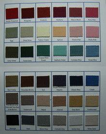 twilltape.com Color Card