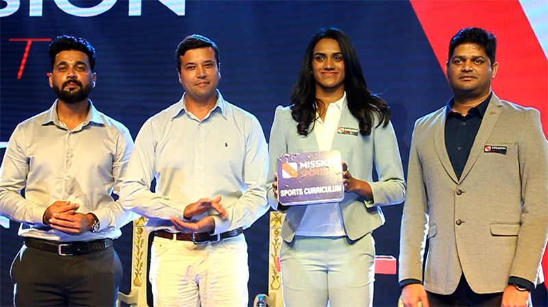 P V Sindhu, Murali Vijay Launches Mission Sports Redefining Sports Education