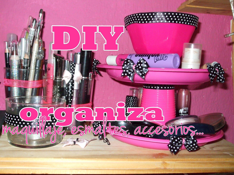 ¡NUEVA SECCIÓN! -Decora tu cuarto ♥ DIY ♥ (Expositor de accesorios,esmal...