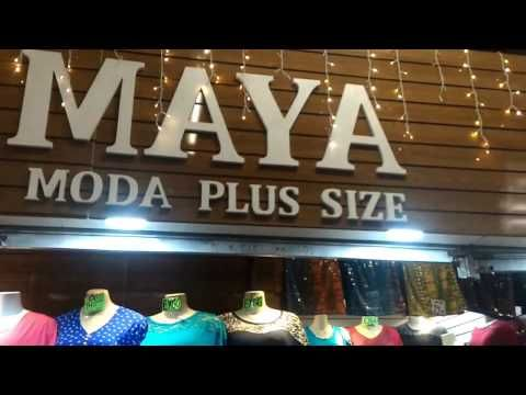 bc4eea7a2 BRÁS Maya moda Plus size FEIRA DA MADRUGADA - YouTube