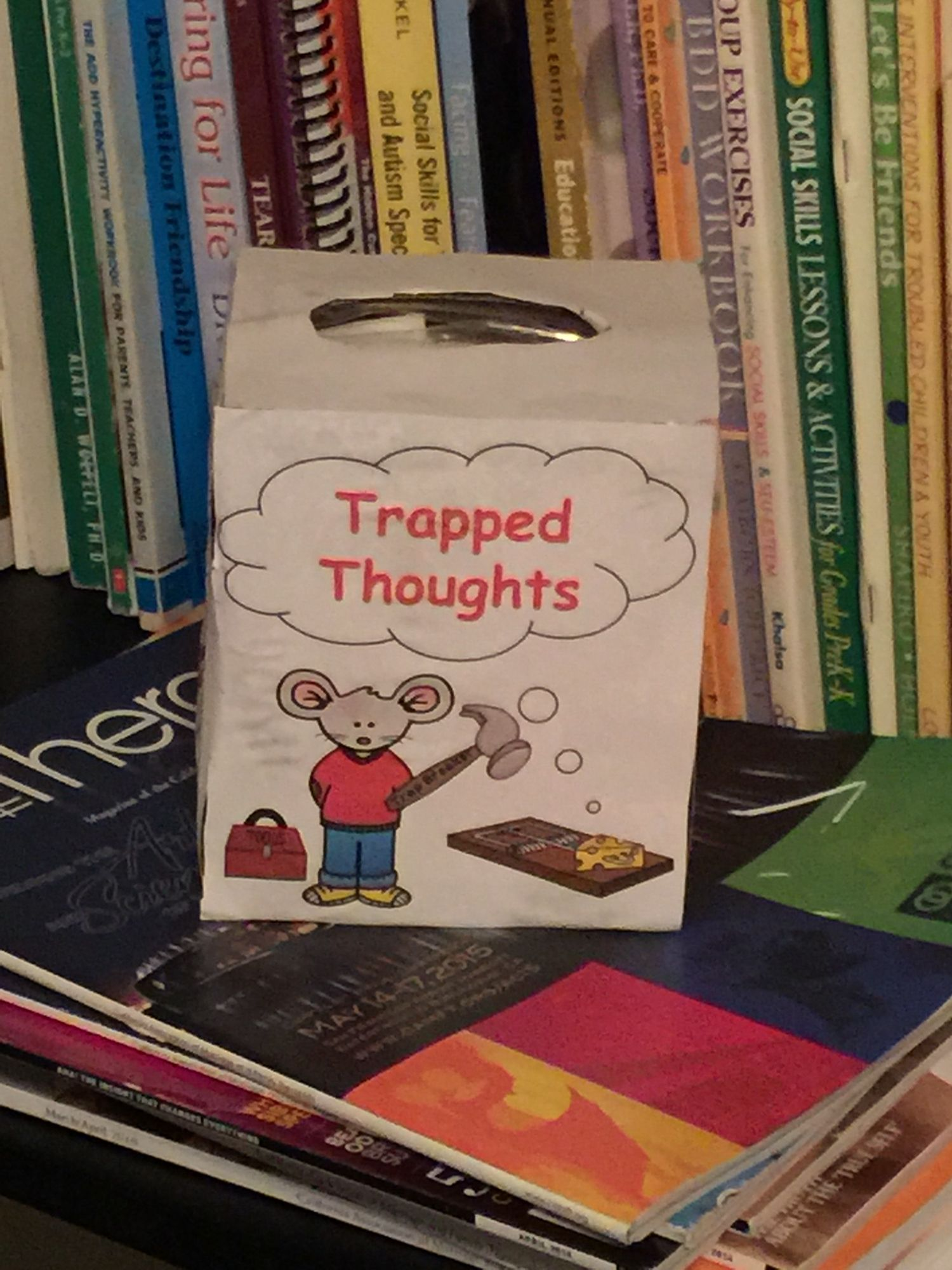 Thought Traps Cognitive Behavioral Therapy Cbt