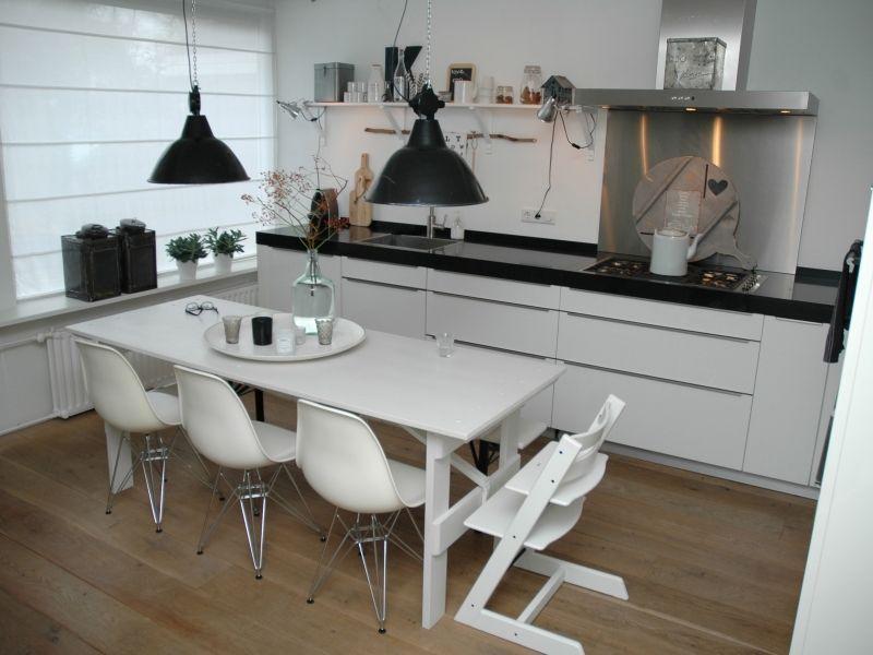 Binnenkijken interieur keuken keukens pinterest keuken interieur en scandinavische keuken - Scandinavische keuken ...