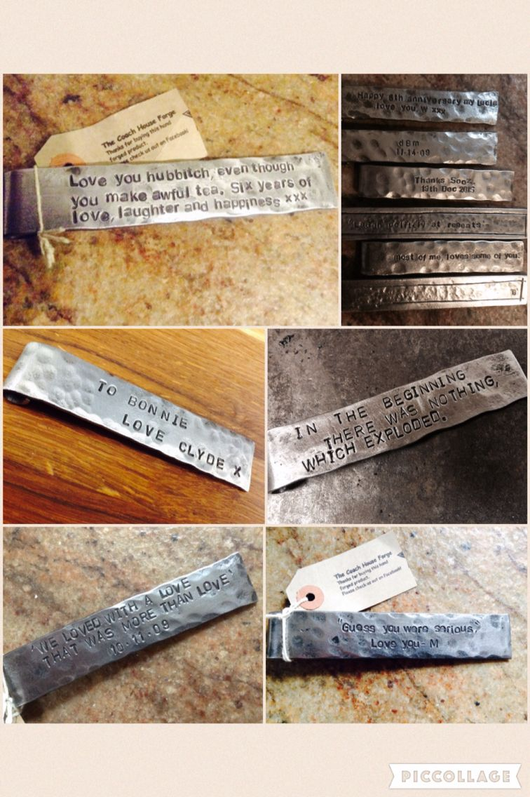 6th wedding anniversary gift idea, iron bookmark | weddings