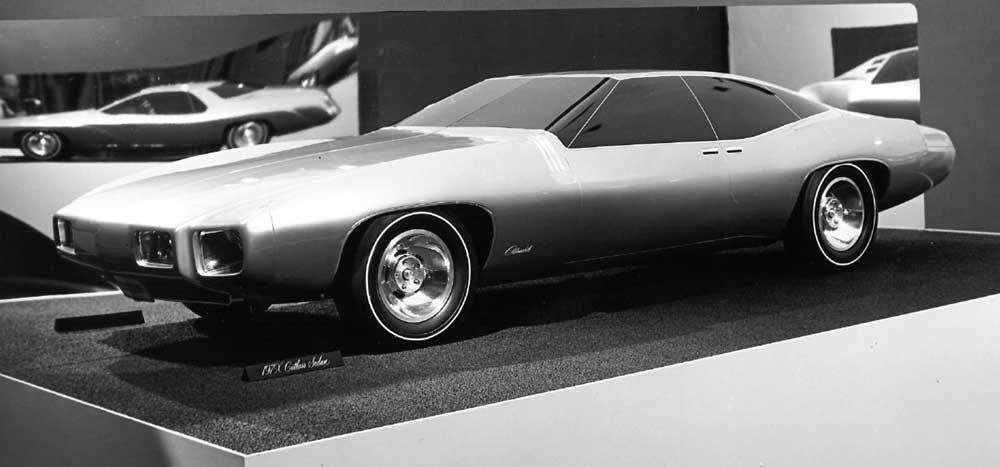 Og 197x Oldsmobile Cutlass Sedan Half Clay Model
