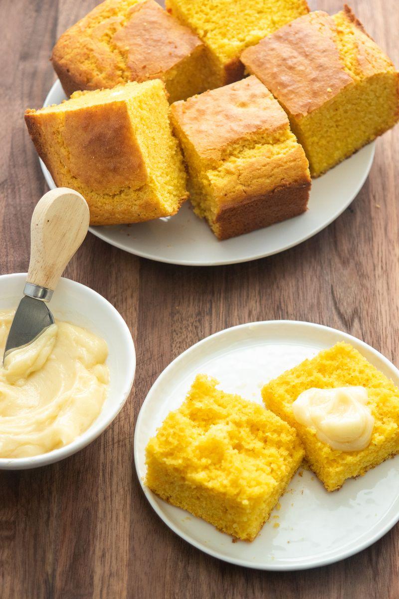 Giada S Buttermilk Cornbread Giadzy Thanksgiving Buttermilk Cornbread Food Network Recipes Giada Food Network Recipes