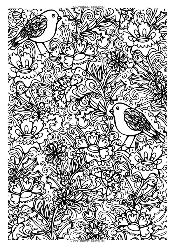 Christmas Patterns: Creative Colouring for Grown-Ups: Amazon ...