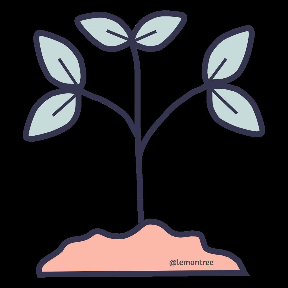 Plant Icon 1000px X 1000px