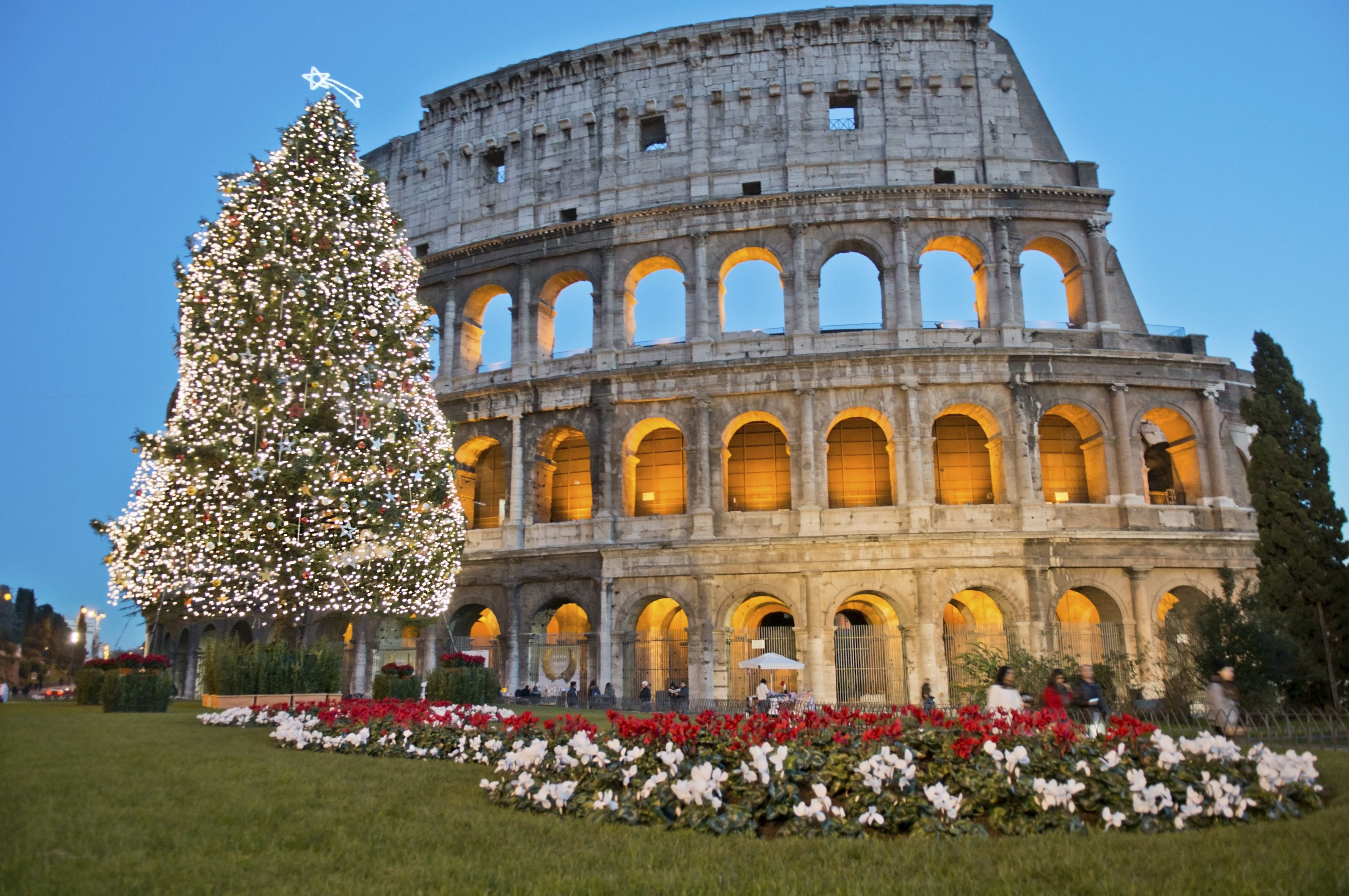 Rome Christmas Time Guided Walking Tour Christmas In Rome Rome Tours Walking Tour