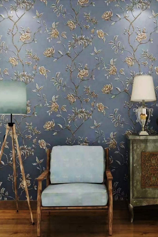 Jz Home Vintage Floral Wallpaper Home Bedroom Living Room 20