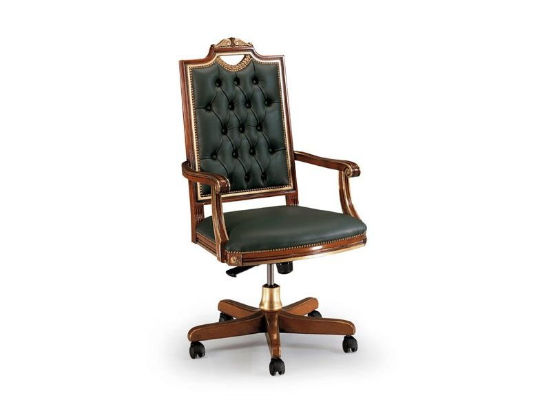 CARLO MAGNO Office By Veneta Sedie Trading Srl: Empire Style Armchair For  Home Office With Carved   Request The Best Price Or Other Information!