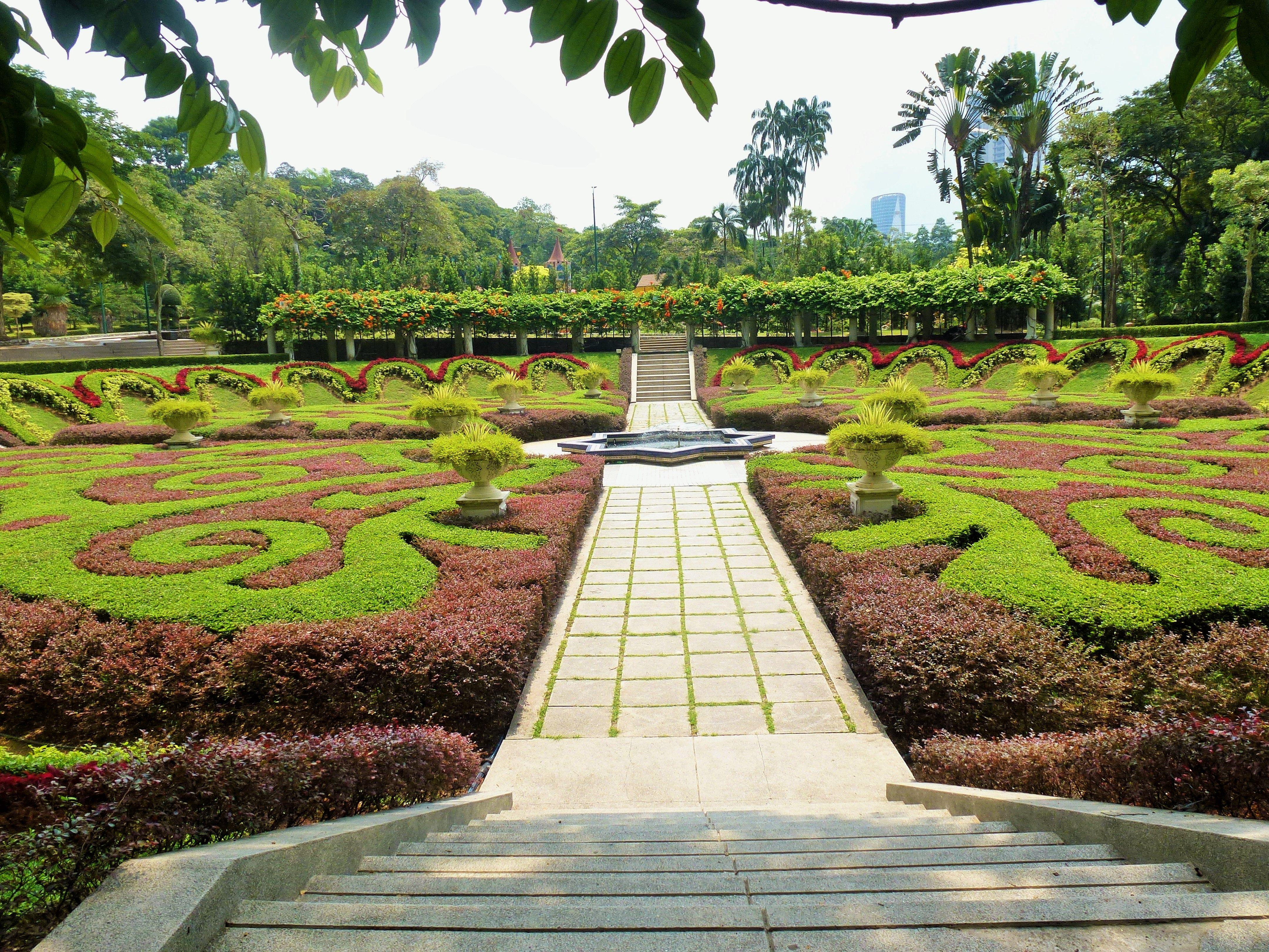 The Sunken Garden Lake Gardens, Kuala Lumpur is a place