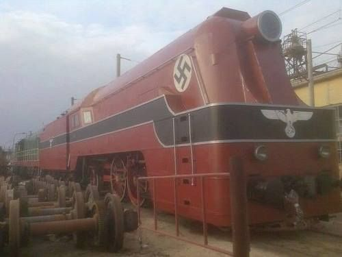 Nazi Gold Train Found in Poland! Rumour that a WW2 German train has been discovered hidden in a tunnel in the mountains of Silesia in south-west Poland. http://polishpoland.com/category/railways/