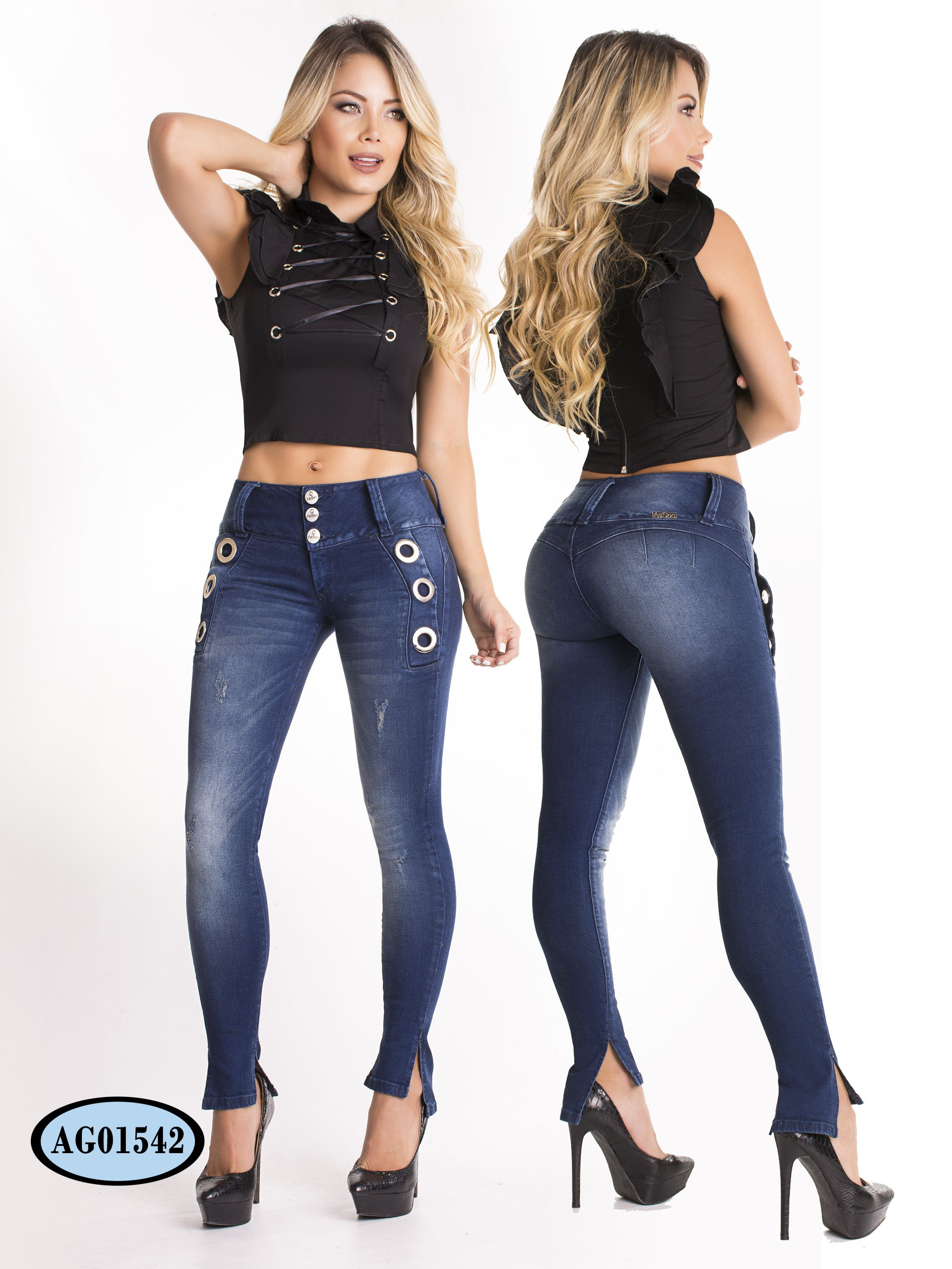 4e52873abeb Asi Sea Colombian Buttlifting Jeans Collection. Latest trends