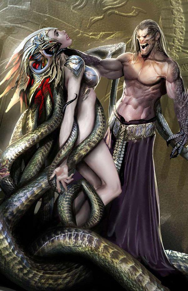 Fantasy Comic Book Art Featuring Stjepan Sejic together