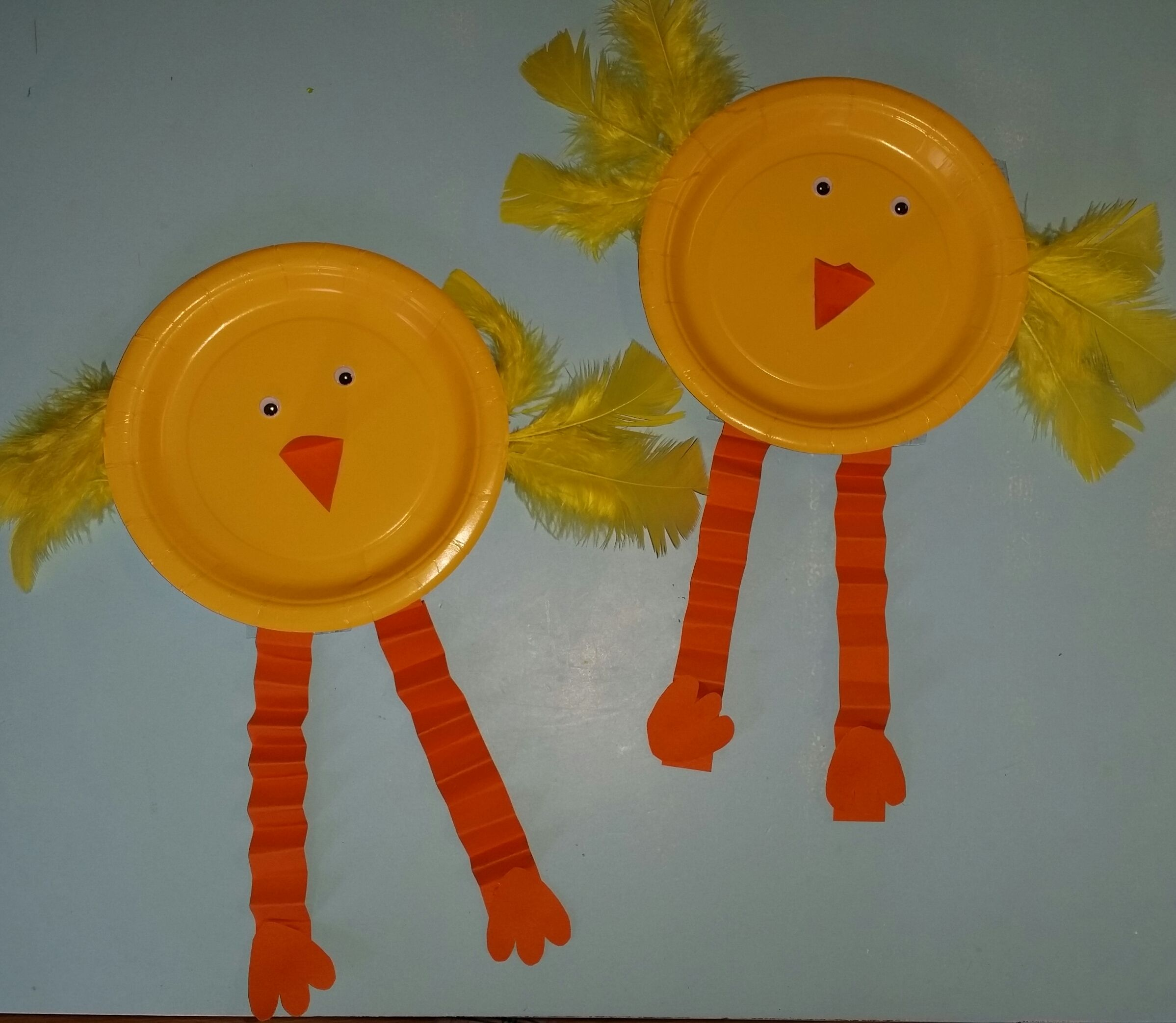 Paper Plate Chicks With Images