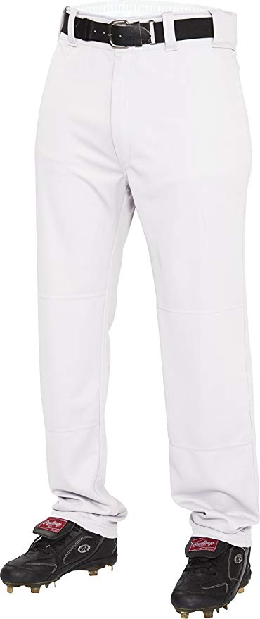 RAWLINGS Mens Semi-Relaxed Pants with Pin Stripe Design