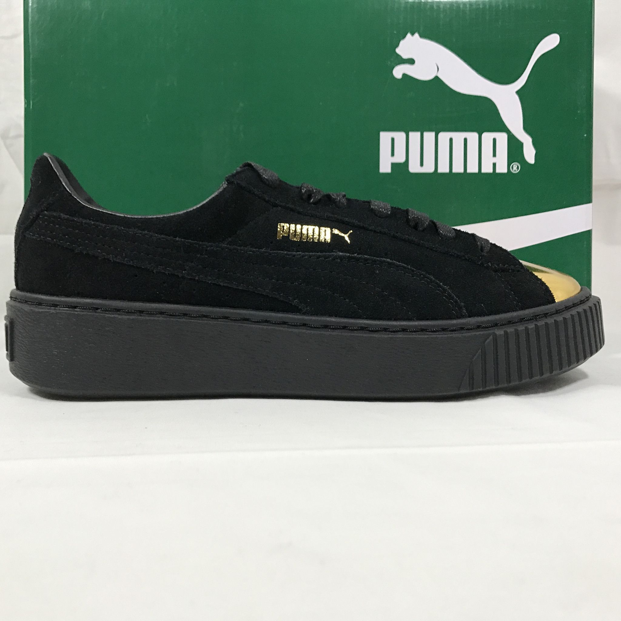 Name: Puma Suede Platform Gold Size: Condition: Brand New
