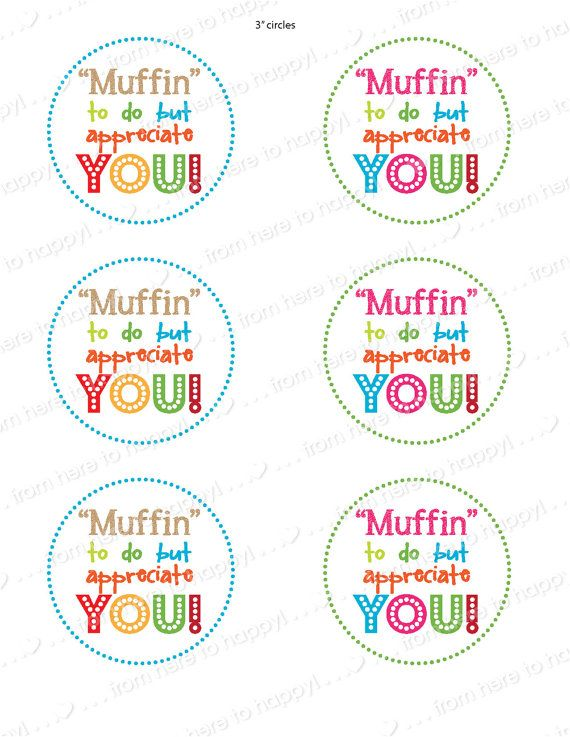 Muffins with Mom--Teacher, PTA, Mother's Day, flyer/invite, gift tags, activity sheets #custodianappreciationgifts