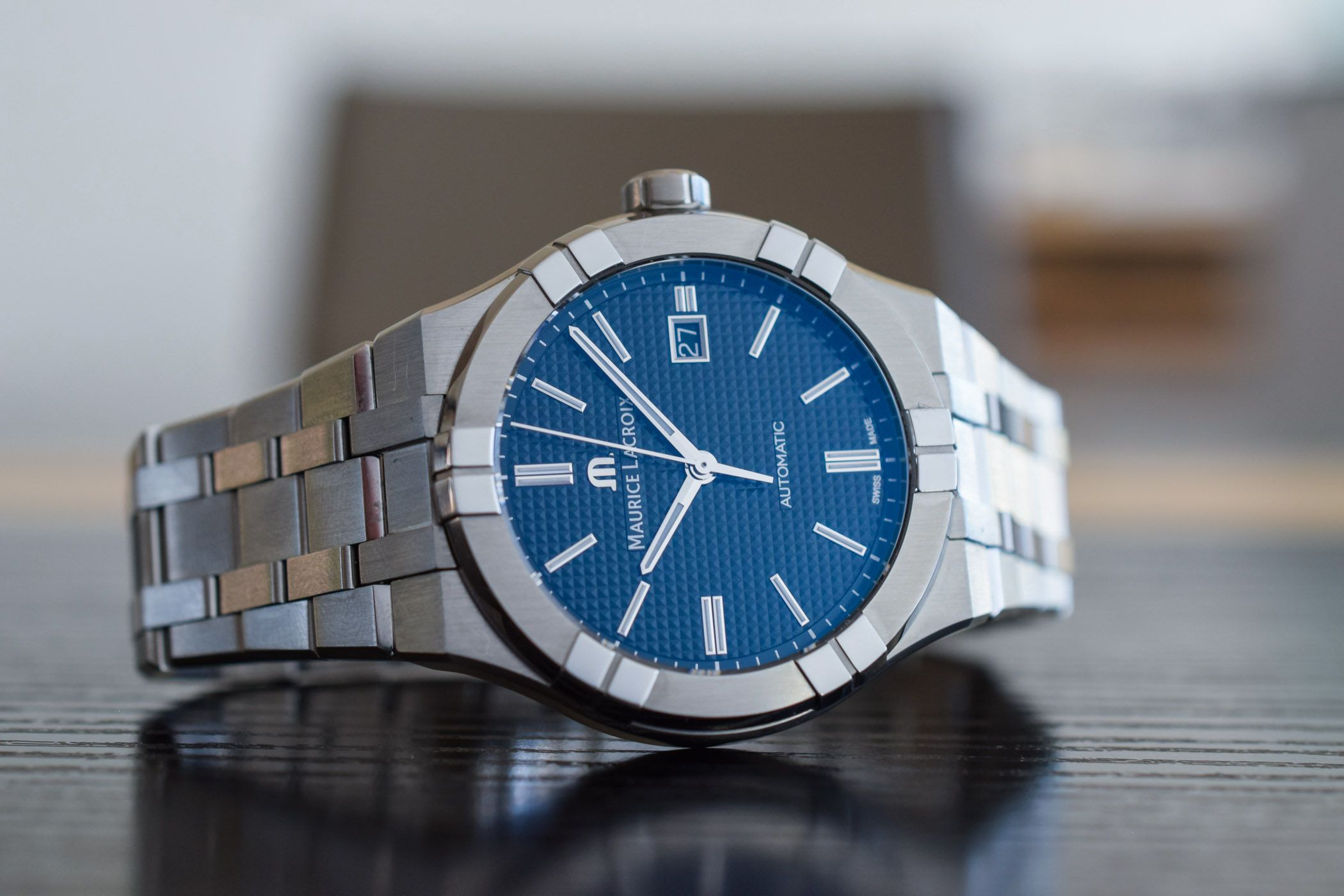 Maurice Lacroix Introduces Automatic (and accessible) versions of its Aikon - Monochrome Watches