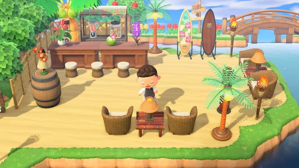 Not The First And Not The Last Beach Bar But It S Mine Ac Newhorizons Animal Crossing Animal Crossing 3ds New Animal Crossing