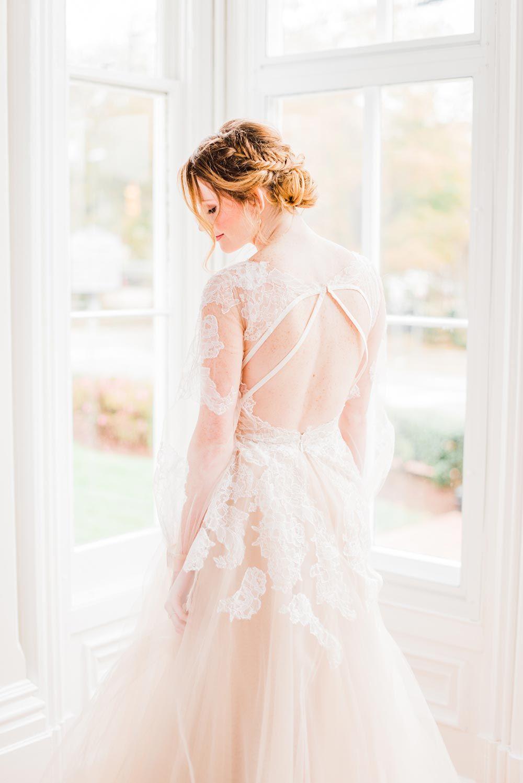 Modern femme wedding inspiration in a historic estate modern