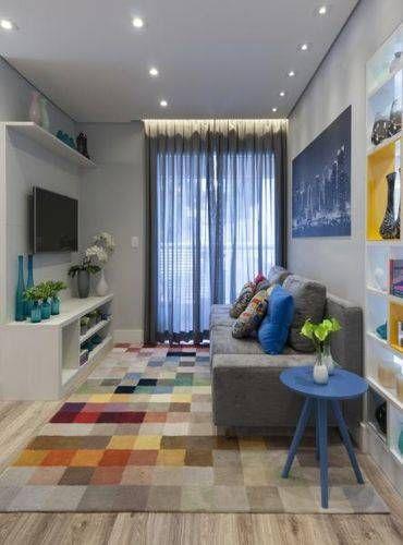70 Modelos de Decoração de Sala Pequena para Inspirar