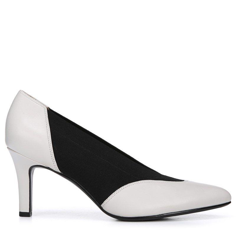 f8a353aa134fa1 Naturalizer Women's Nicole Narrow/Medium/Wide Pump Shoes (Alabaster)