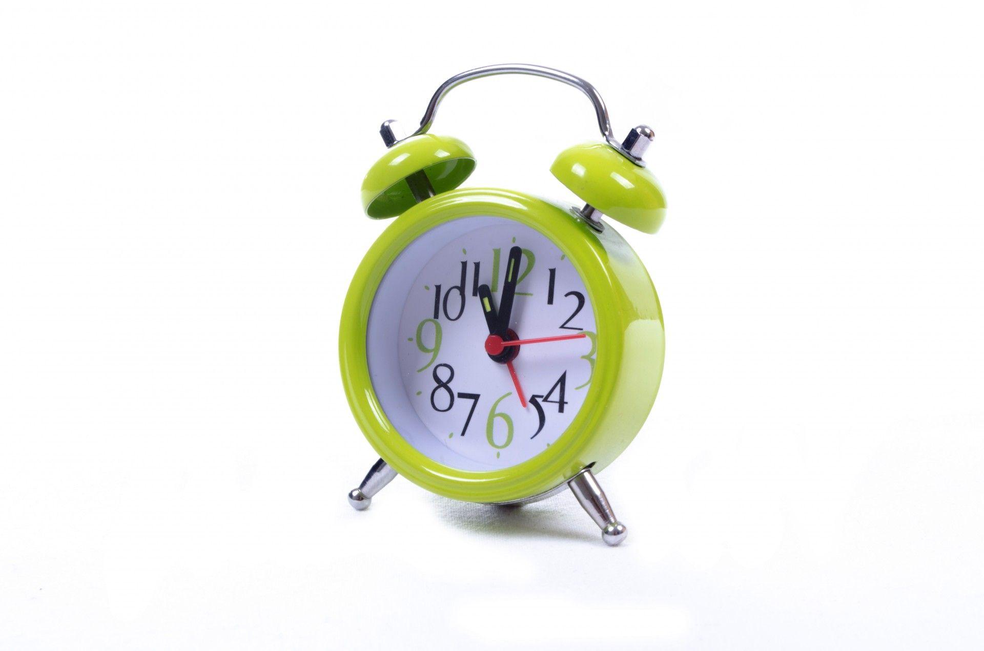 Beautiful Green Alarm Clock Wallpaper Download High