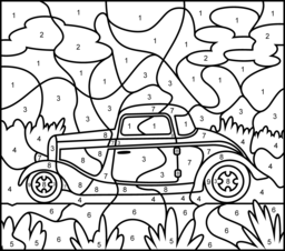 Printable Camplicated Coloring Pages Hot Rod Printable Color