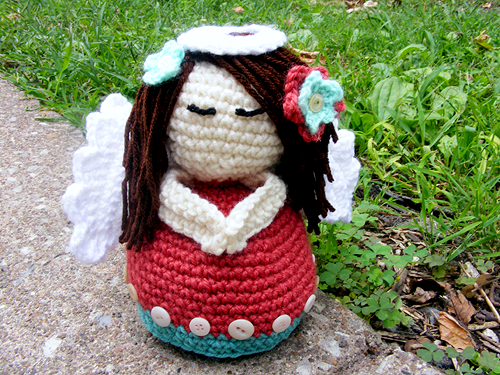 Amigurumi Angel (With Pattern!) - CROCHET | crochet souvenirs ...