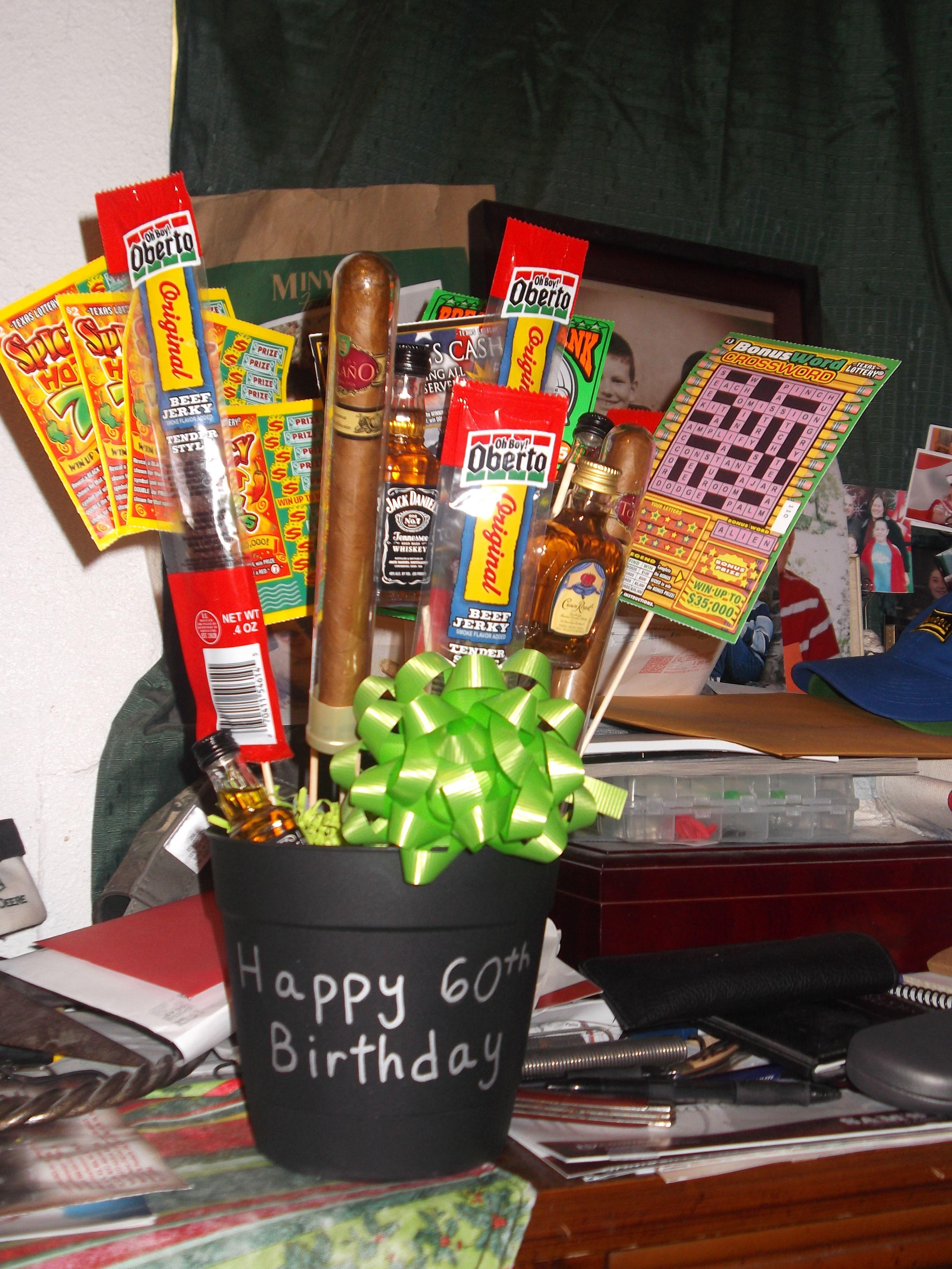60th Birthday Gift Basket Ideas