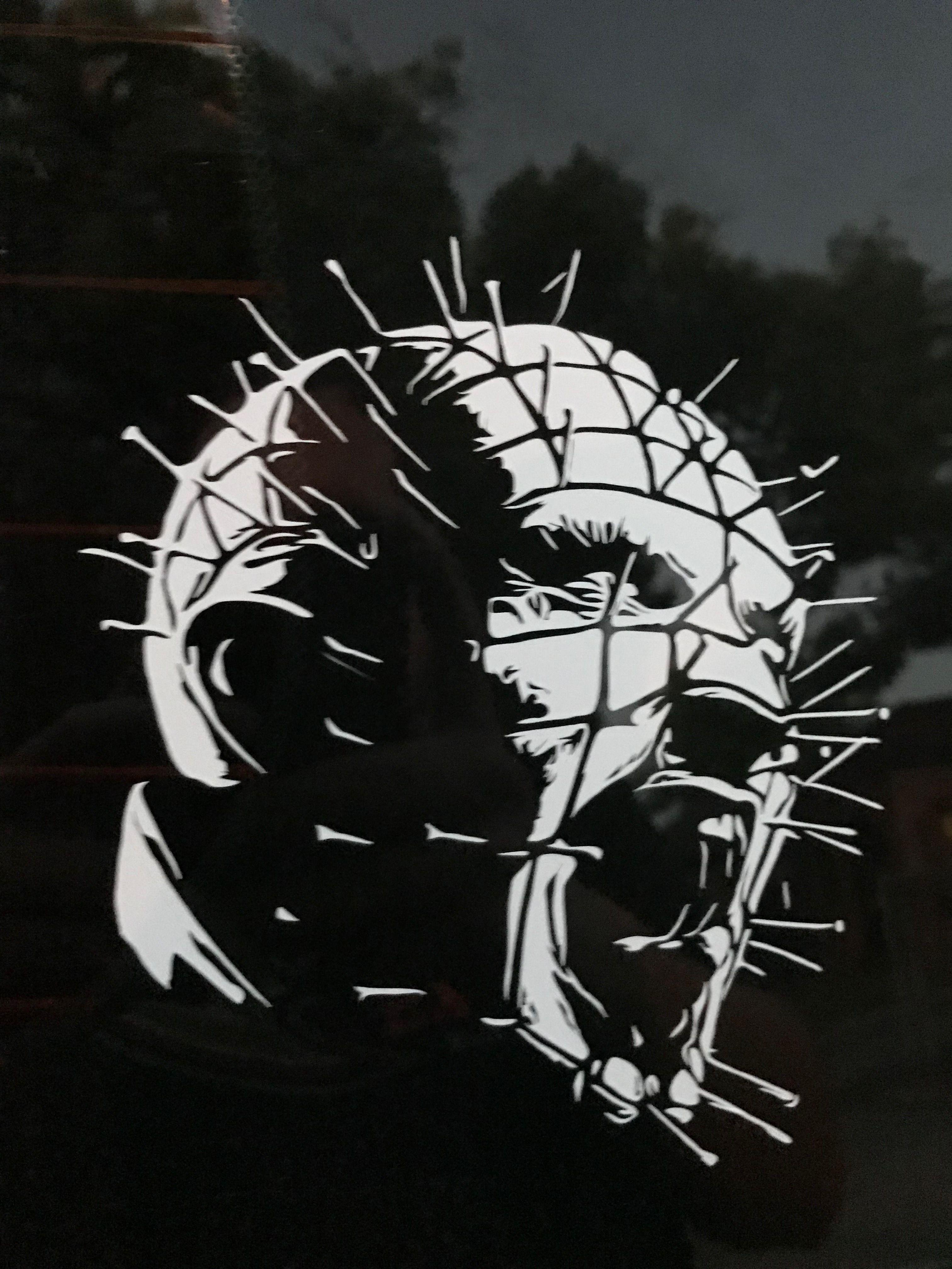 Hellraiser Pinhead Car Horror Decals Horror Movie Tattoos Horror Movie Art Hellraiser [ 4032 x 3024 Pixel ]