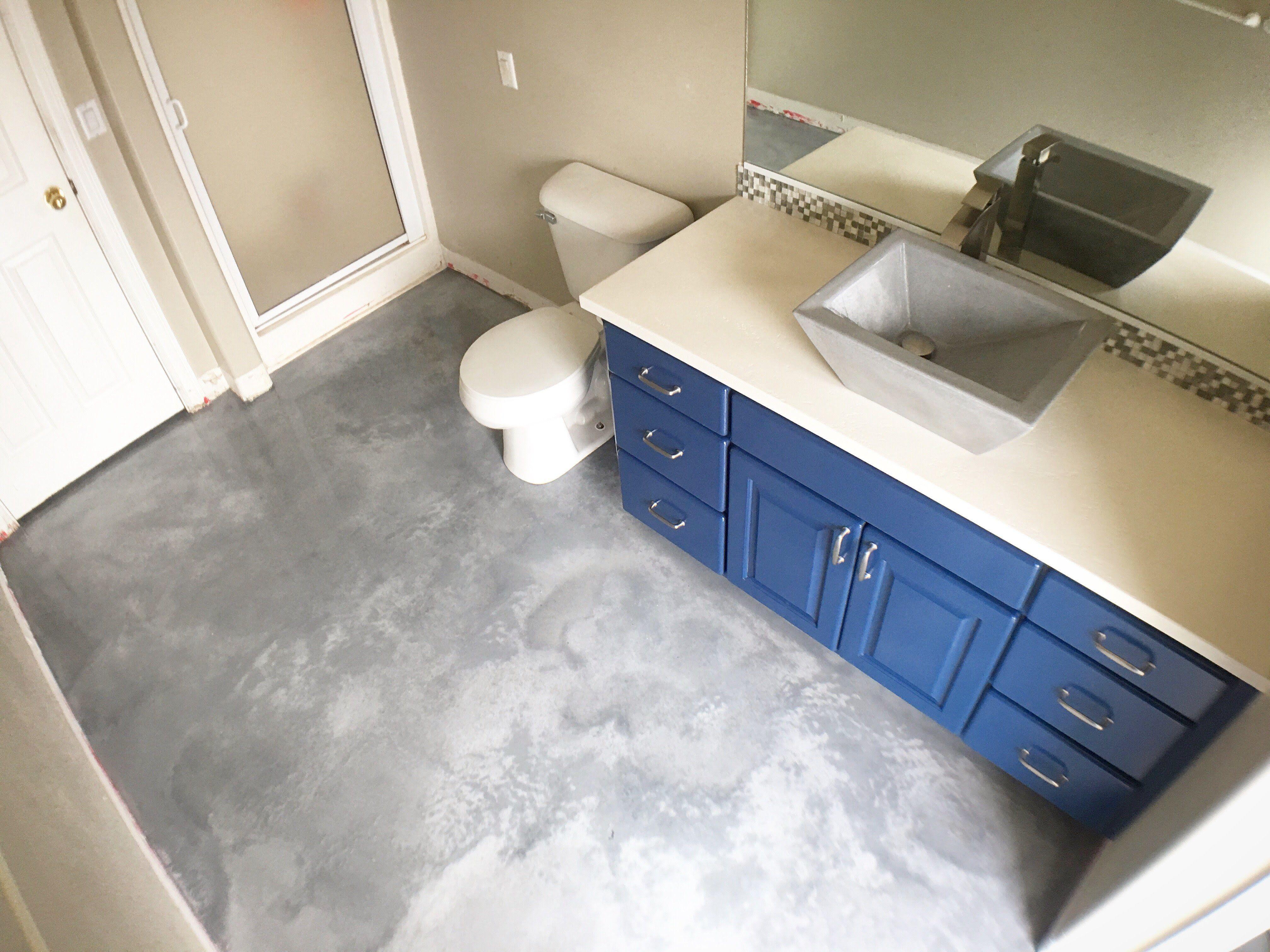 Bathroom Remodel Done By Elastocrete Training Group Bathrooms Remodel Bathroom Flooring Countertops
